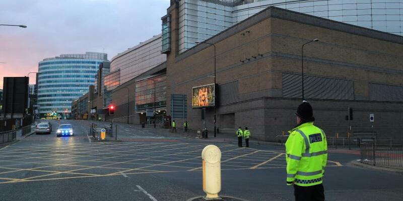 Polizeieinsatz - Foto: Peter Byrne/PA Wire