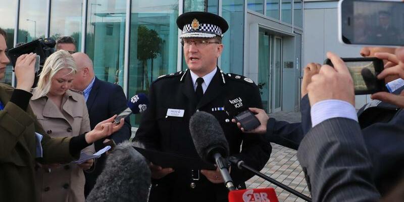 Pressekonferenz - Foto: Peter Byrne
