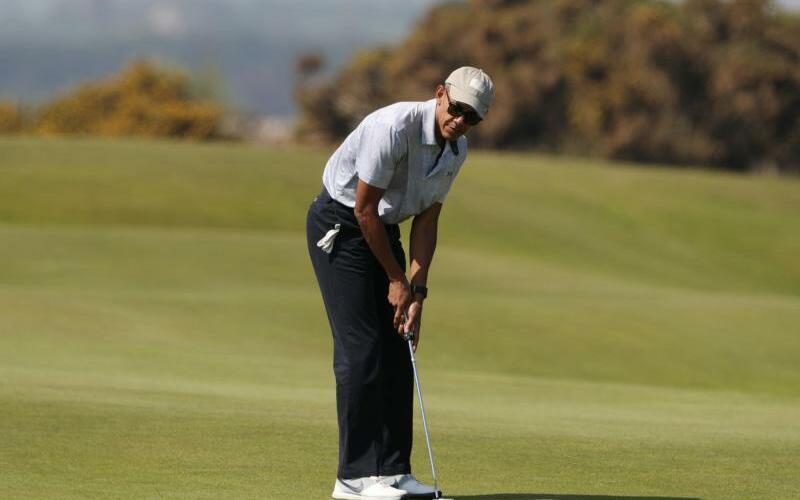 Obama in Schottland - Foto: Andrew Milligan