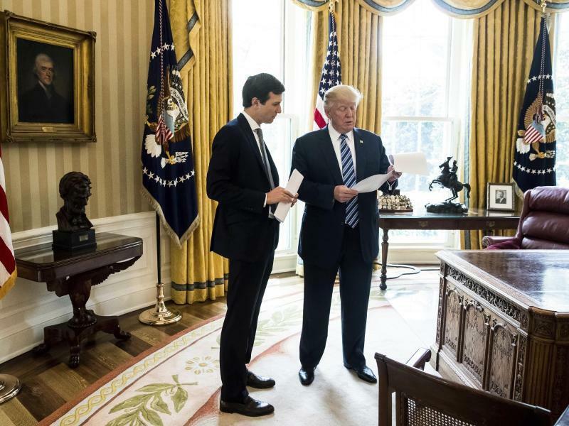 Trump und Kushner - Foto: Andrew Harnik