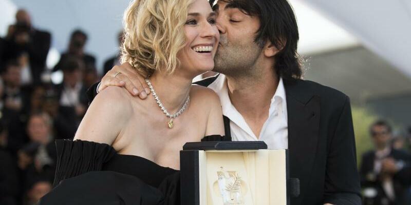 Diane Kruger mit Fatih Akin in Cannes - Foto: Arthur Mola