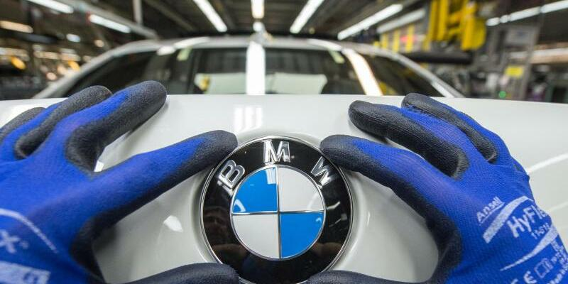 BMW-Produktion - Foto: BMW-Produktion in Dingolfing in Bayern. Foto:Armin Weigel/Symbolbild