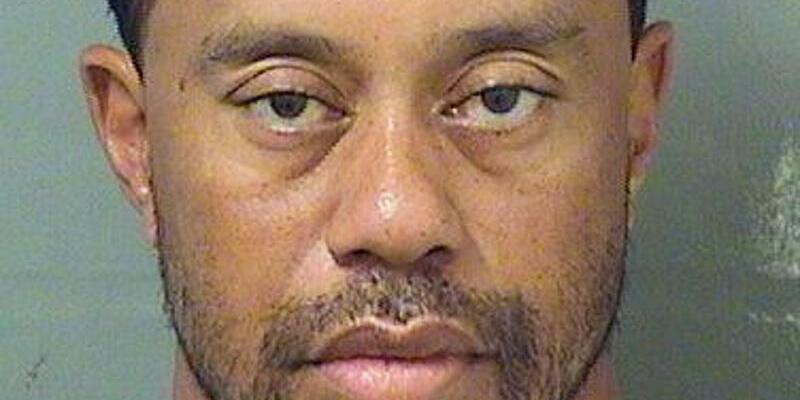 Tiger Woods - Foto: Palm Beach County Sheriff's office