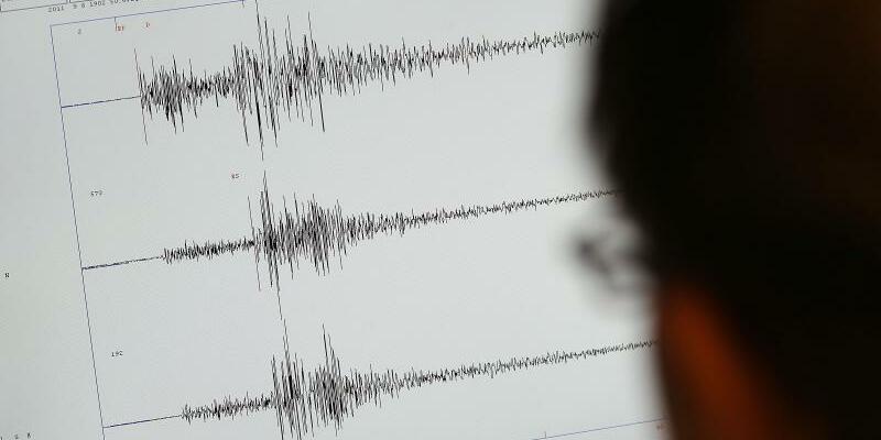 Seismograph - Foto: Oliver Berg/Symbol