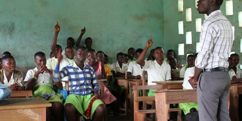 Schule in Ghana - Foto: Kristin Palitza