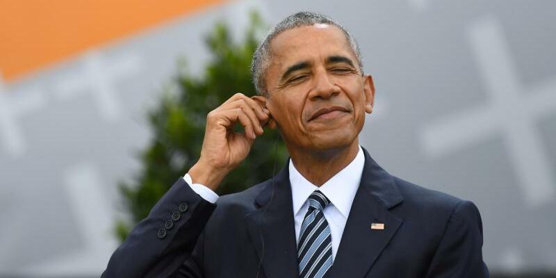 Barack Obama - Foto: Barack Obama hat für seine Reden auch auf Texte von Jay-Zzurückgegriffen. Foto:Ralf Hirschberger