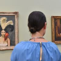 Kunstausstellung «Von Hopper bis Rothko» - Foto: Die Phillips Collection in Washington D.C. hat 68 Werke entsandt. Foto:Bernd Settnik/dpa