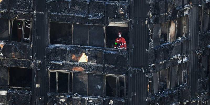 Nach dem Hochhausbrand - Foto: David Mirzoeff