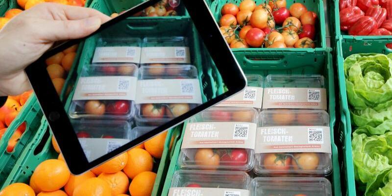 Supermarkt der Zukunft - Foto: Roland Weihrauch