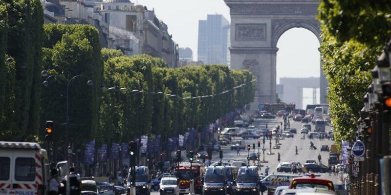 Champs-Elysées - Foto: Bertrand Combaldieu