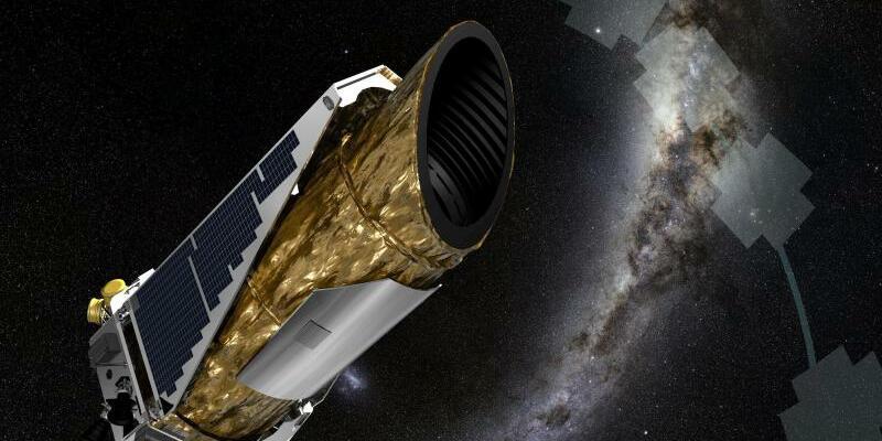 Planetenjäger «Kepler» - Foto: EPA/NASA/Ames/JPL-Caltech