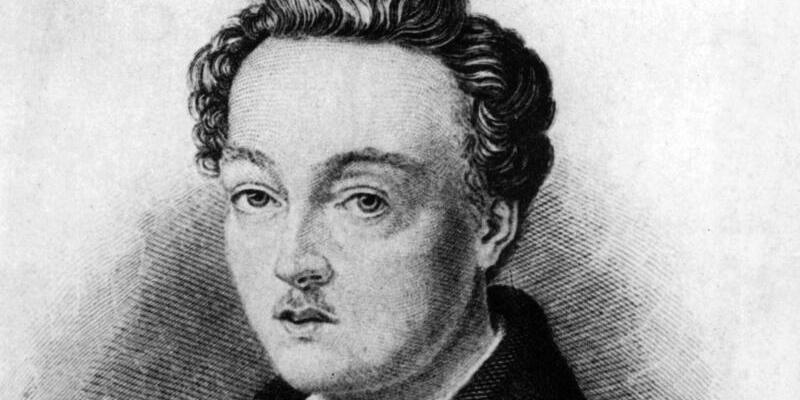 Georg Büchner - Foto: Georg Büchner starb 1837 mit nur 23 Jahren an Typhus. Foto:dpa