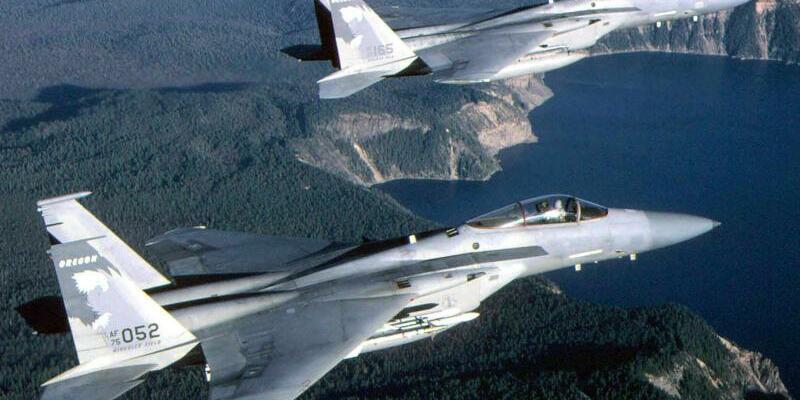 F-15-Kampfjet - Foto: Dave Nolan/USAF