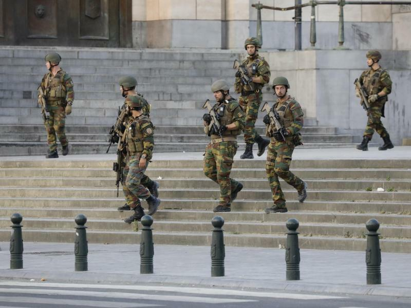 Soldaten - Foto: Thierry Roge