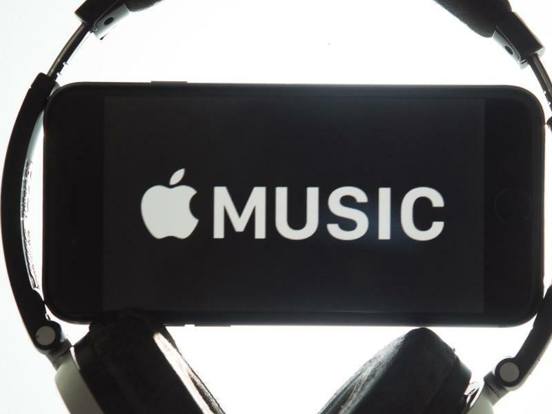 Streaming-Service Apple Music - Foto: Apple Music ist die klare Nummer zwei hinter Spotify im Streaming.Markt Markt mit 27 Millionen Abo-Kunden. Foto:Sebastian Kahnert