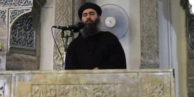 Abu Bakr al-Bagdadi - Foto: Furqan Media/Archiv