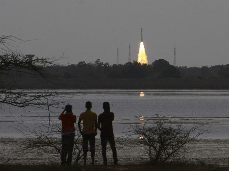 Raketenstart in Indien - Foto: AP