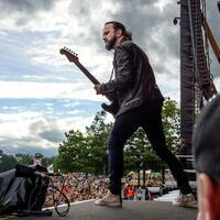 Roskilde Festival - Foto: Der Däne Tim Christensen rockte im letzten Jahr das Feld. Ein diesjähriges Highlight ist der Auftritt der Foo Fighters.Foto:Nils Meilvang