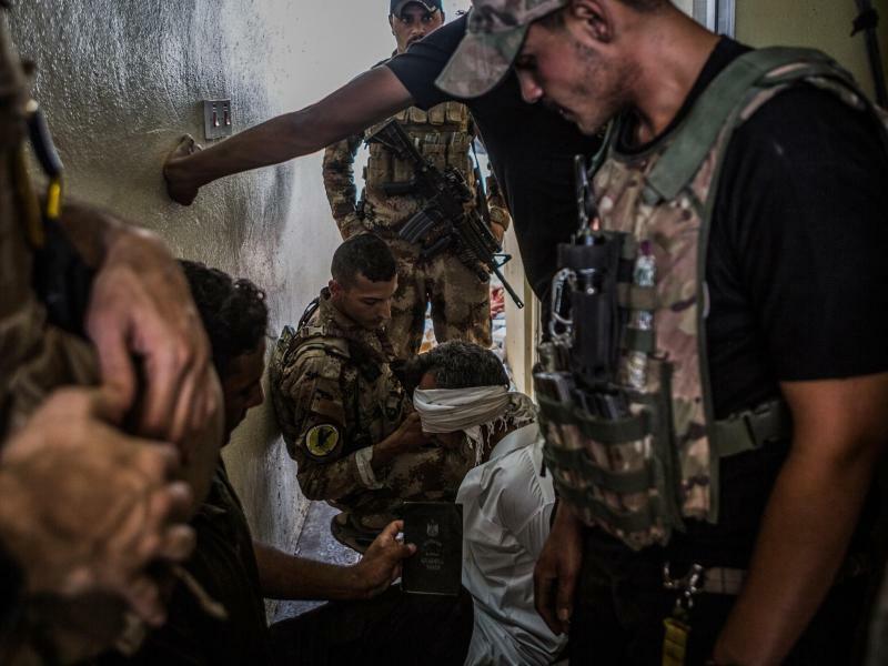 Kämpfe in Mossul - Foto: Andrea DiCenzo