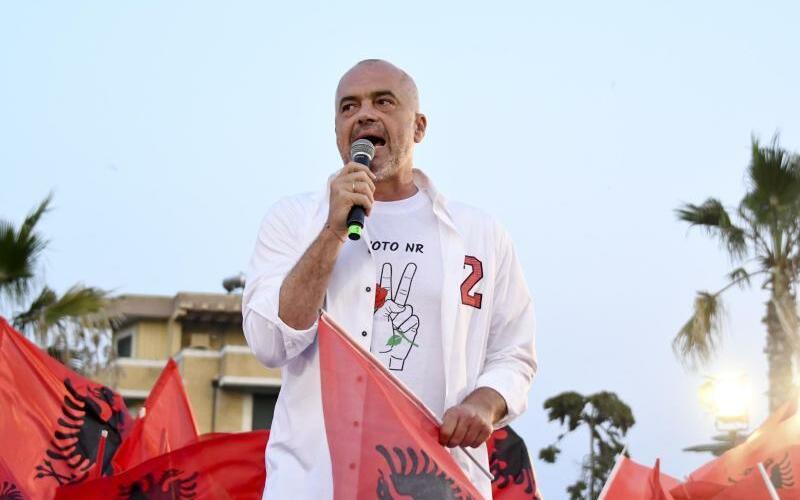 Regierungschef Edi Rama - Foto: Hektor Pustina