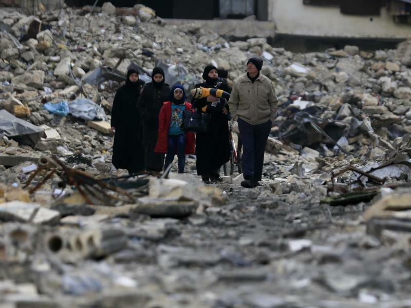 Aleppo - Foto: Hassan Ammar/AP/Archiv