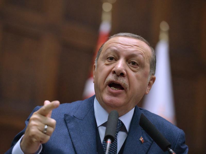 Erdogan in Ankara - Foto: Depo Photos