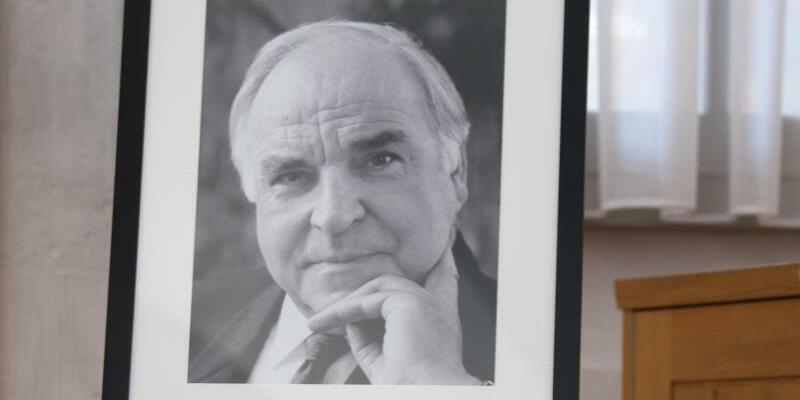 Helmut Kohl - Foto: Kohl war am 16. Juni im Alter von 87 Jahren gestorben. Foto:Arno Burgi