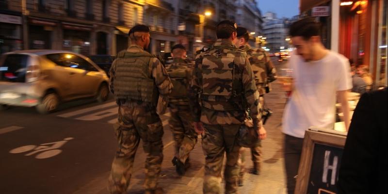 Militärpolizei in Paris - Foto: über dts Nachrichtenagentur