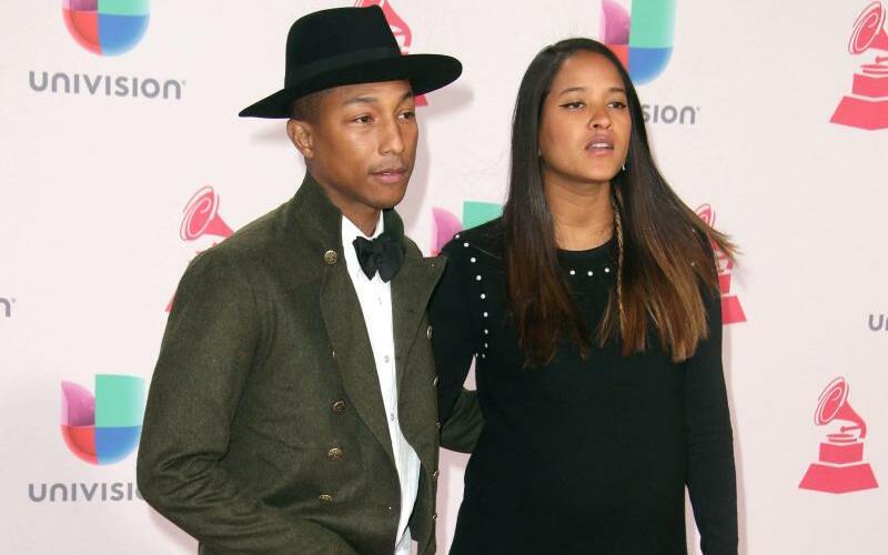 Pharrell Williams & Helen Lasichanh - Foto: Mike Nelson