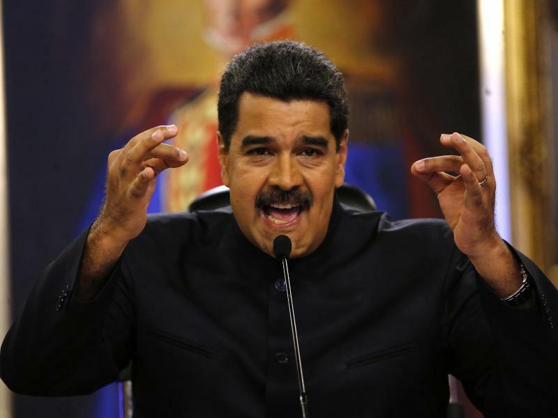 Präsident Maduro - Foto: Ariana Cubillos