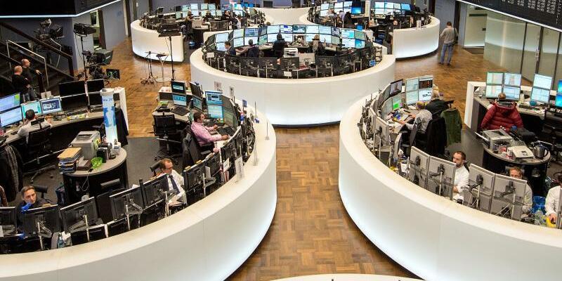 Börse in Frankfurt - Foto: Alexander Heinl/Illustration
