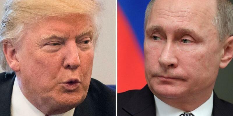 Trump und Putin - Foto: A. Lohr-Jones/A. Astafyev