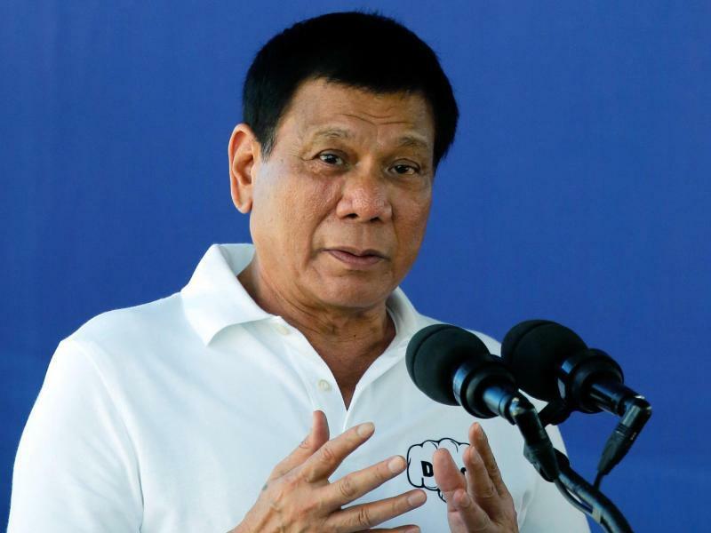 Duterte - Foto: Seit Dutertes Amtsantritt starben bei Einsätzen gegen Drogenkriminelle Tausende Menschen. Foto:Francis R. Malasig