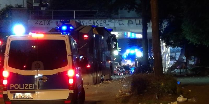 Randale in Hamburg in der Nacht auf den 08.07.2017 - Foto: über dts Nachrichtenagentur