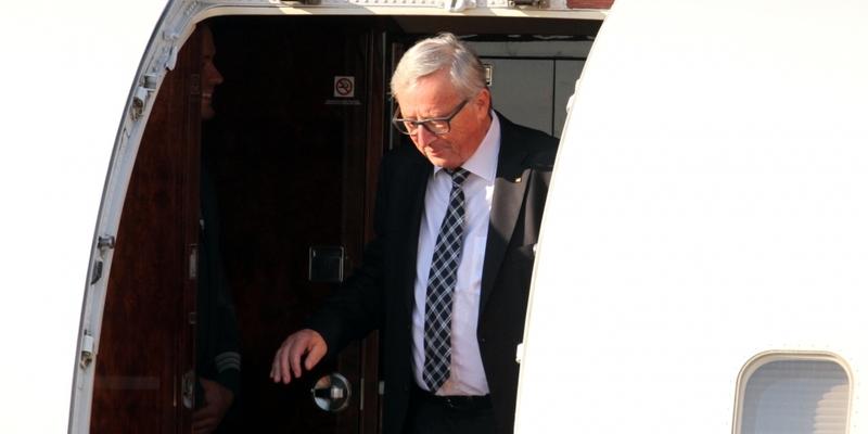 Jean-Claude Juncker am 06.07.2017 am Hamburger Flughafen - Foto: über dts Nachrichtenagentur