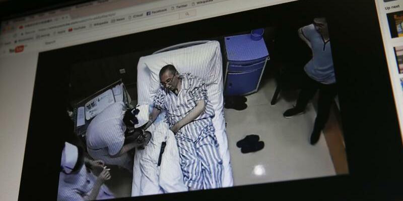 Liu Xiaobo in Krankenhaus - Foto: Andy Wong/Archiv