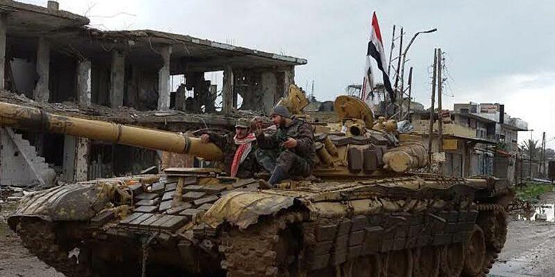 Konflikt in Syrien - Foto: SANA/epa/Archiv
