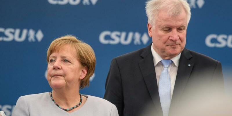 Angela Merkel und Horst Seehofer - Foto: Sven Hoppe/Archiv