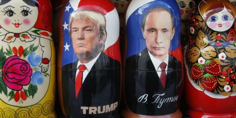 Trump und Putin - Foto: Dmitri Lovetsky/Archiv