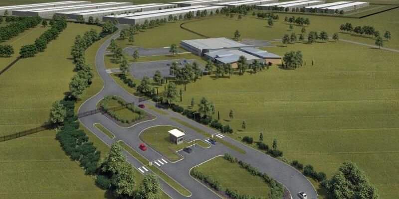 Rechenzentrum in Dänemark - Foto: Apple