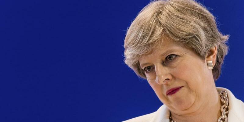 Premierministerin Theresa May - Foto: Geert Vanden Wijngaert/AP