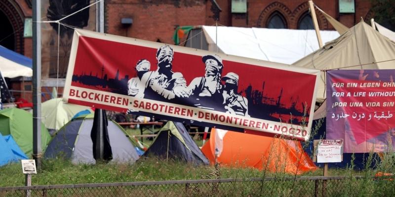 G20-Protestcamp - Foto: über dts Nachrichtenagentur