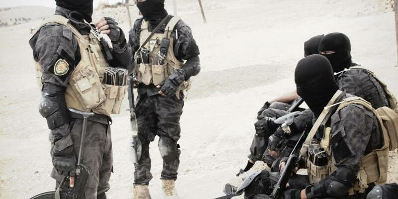Kurdische Kämpfer - Foto: Kurdishstruggle via ZUMA Wire