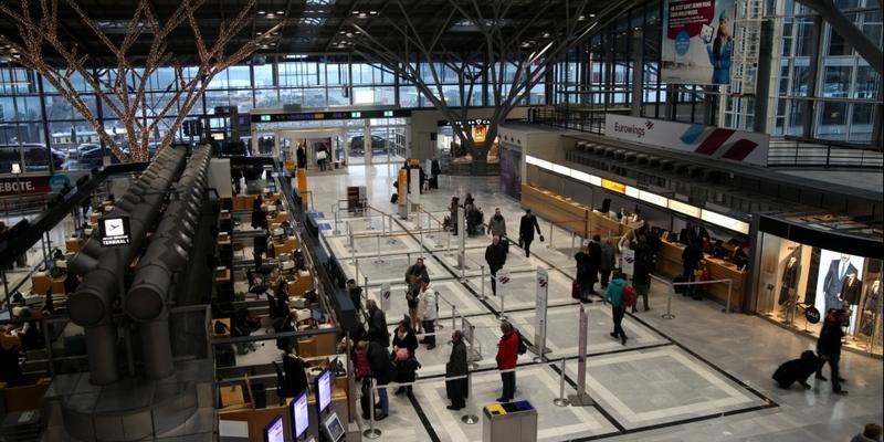 Abfertigungshalle Flughafen Stuttgart - Foto: über dts Nachrichtenagentur