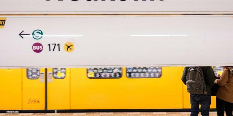 Berliner U-Bahnstationen - Foto: Silas Stein/dpa