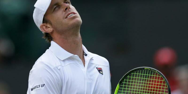 Im Halbfinale - Foto: Sam Querrey hat im Viertelfinale Titelverteidiger Andy Murray besiegt. Foto:Tim Ireland