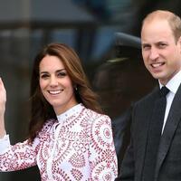 Prinz William & Herzogin Kate - Foto: Str