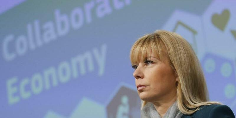 EU-Industriekommissarin Bienkowska - Foto: Olivier Hoslet