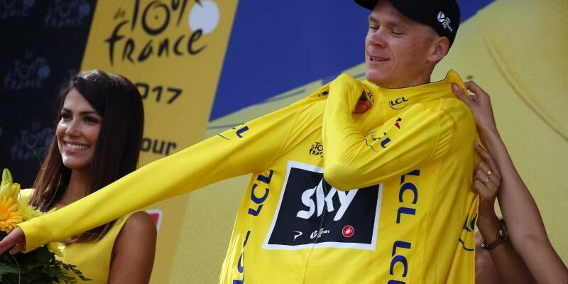 Chris Froome - Foto: Peter Dejong