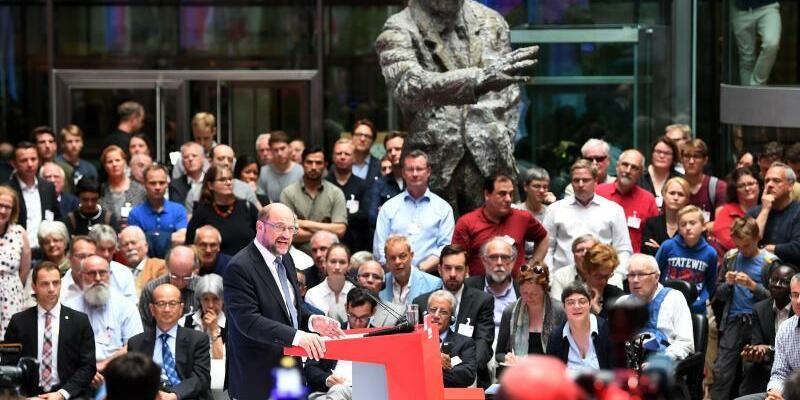 SPD-Kanzlerkandidat Schulz - Foto: Maurizio Gambarini